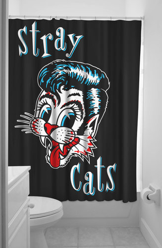 Duschvorhang Stray Cats