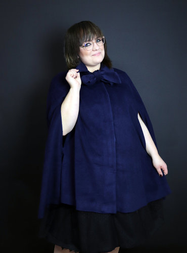 Collectif Cape Caroline Blau